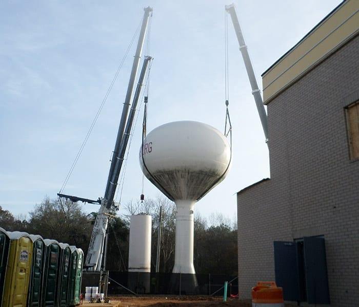 100 ft water tank