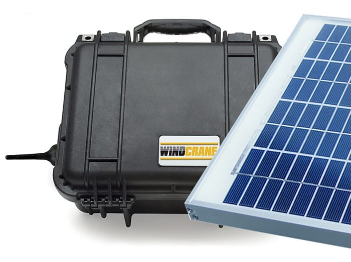 WINDCRANE KIT (PV Solar Powered)