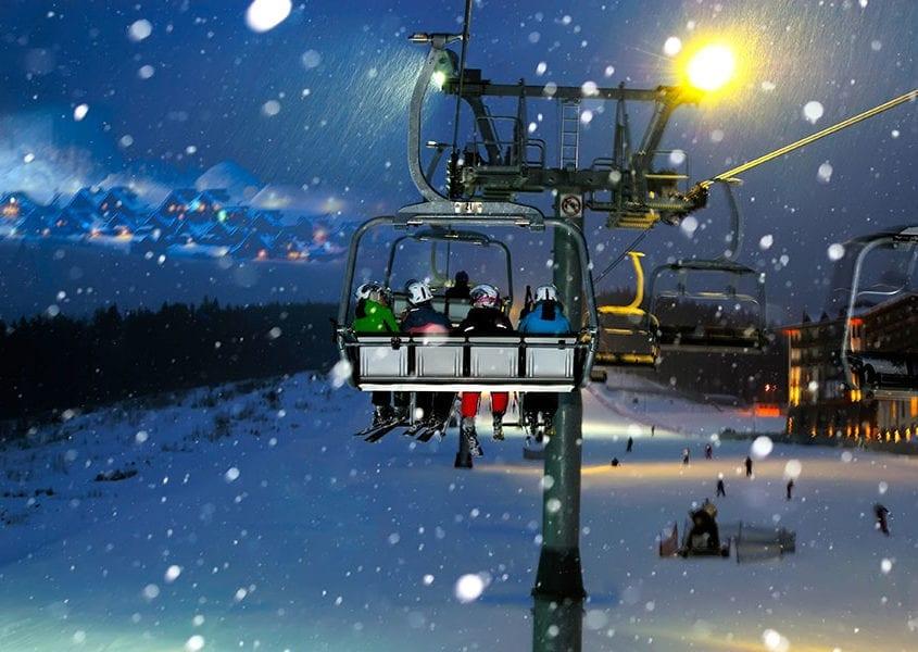 ski lift high wind risk control