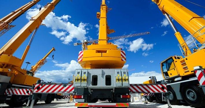 mobile crane wind speed measurement
