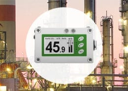 Wireless Anemometers and Displays with Alarms