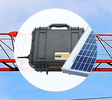 WindCrane solar kit