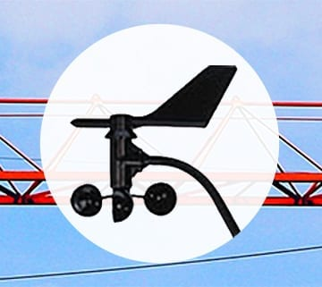 WindCrane Dual Anemometer